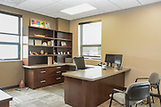 Brester Construction Office area Photograph by premier Architectural Photographer Barry A Mosley in Lincoln, Nebraska.