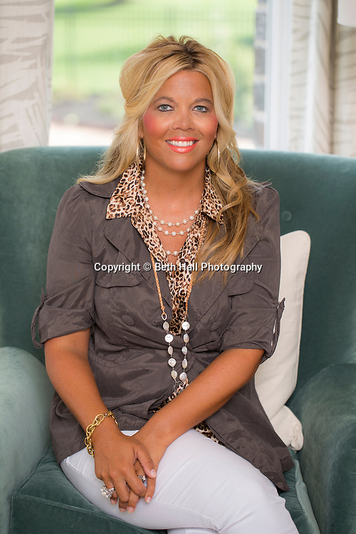 Portrait of Casey Roark, an interior designer in Fayetteville, Arkansas.<br /> <br /> Photo by Beth Hall