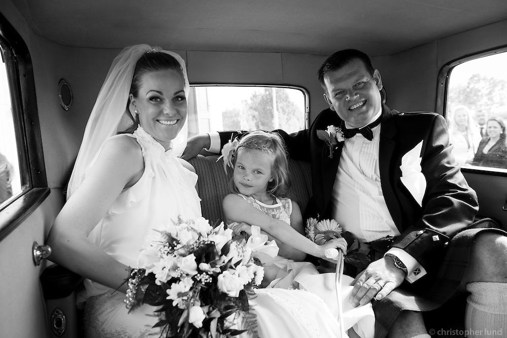 Jón Lindsay og Dóra Stephensen gifta sig.
