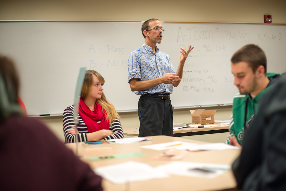 Charlie Morgan, Assistant Professor of Sociology. © Ohio University / Photo by Ben Siegel