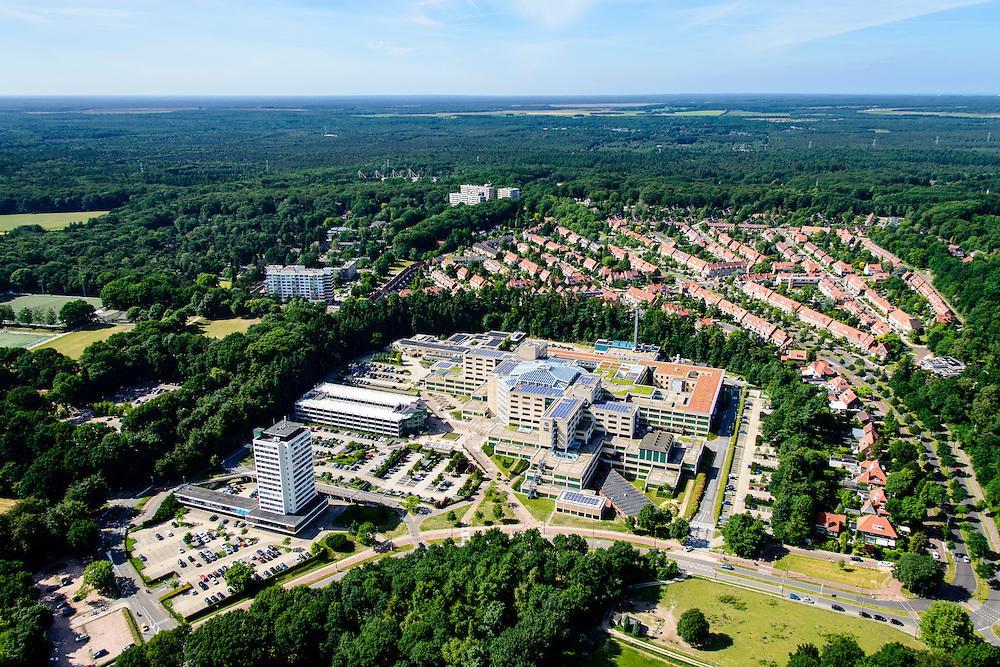 Nederland, Gelderland, Arnhem, 09-06-2016; Rijnstate ziekenhuis Arnhem in de wijk Alteveer-Kraneveld.<br /> luchtfoto (toeslag op standard tarieven);<br /> aerial photo (additional fee required);<br /> copyright foto/photo Siebe Swart
