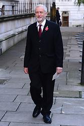 Jeremy Corbyn beim Remembrance Sunday in London / 131116 *** Remembrance Sunday, London, 13 Nov 2016 ***