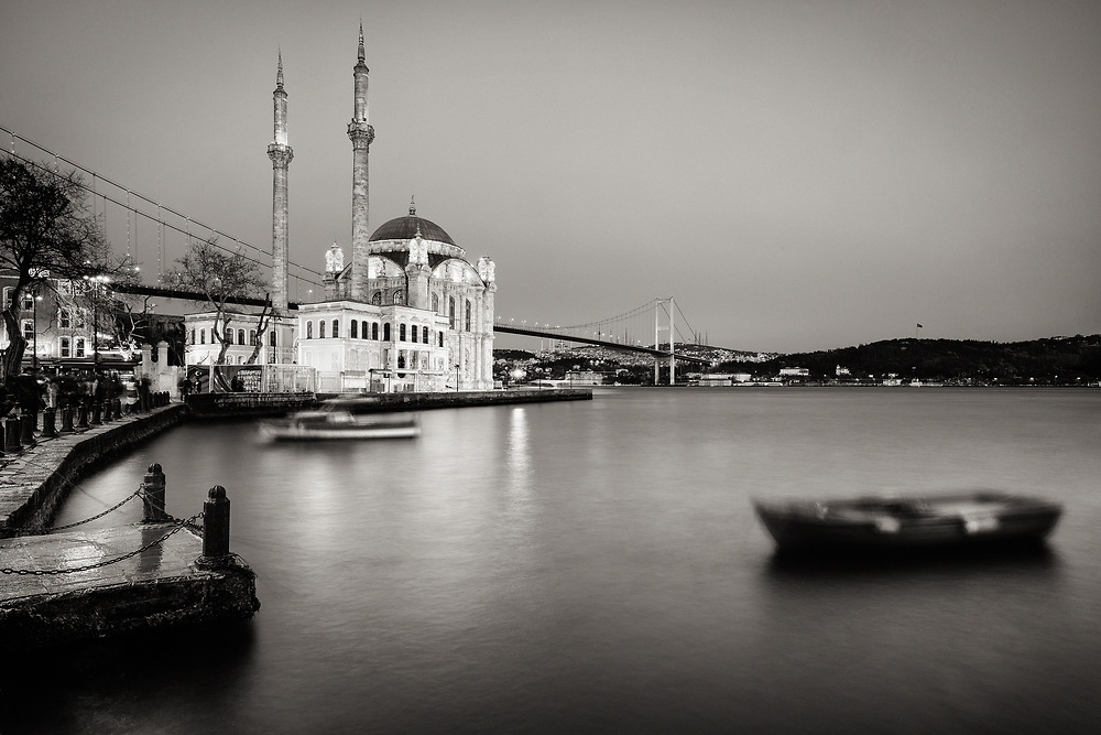 Title: Istanbul #6<br /> Year: 2017<br /> Place: Istanbul, Turkey<br /> Photographer: Ezequiel Scagnetti &copy;<br /> <br /> FINISHES:<br /> <br /> Canson Infinity Velin Museum Rag<br /> <br /> This paper is naturally age-resistant and has a unique fine-grained, smooth surface and structure and offers a pure white tone without optical brightening agents. It is ideal for sophisticated photographs and museum-grade applications, as well as fine art printmaking. <br /> Technical data:<br /> &bull;Weight: 315 g/m2<br /> &bull;Surface: Matt surface &ndash; soft textured<br /> &bull;Composition: 100% cotton<br /> &bull;Acid free paper<br /> &bull;No OBA (optical brightening agents)<br /> &bull;Colour resistance: above 120 years (framed with UV filter)<br /> <br /> Canson Infinity Highgloss Premium<br /> <br /> This ultra-white photo paper currently has the highest gloss level of the photographic resin-coated paper market. This paper offers vivid colours and deep blacks, coupled with excellent image sharpness, with a resolution of up to 5760 dpi. Canson Infinity Photo High Gloss Premium RC has been designed to comply with the highest lifespan requirements and respects the ISO 9706 standard.<br /> Technical data:<br /> &bull;Weight: 315 g/m2<br /> &bull;Surface: Gloss surface &ndash; Extra smooth feel<br /> &bull;Composition: 100% alpha-cellulose<br /> &bull;Acid free paper<br /> &bull;Moderate OBA (optical brightening agents)<br /> &bull;Colour resistance: above 100 years (framed with UV filter)<br /> <br /> Conditions of use and storage for Canson Paper Prints:<br /> <br /> * Use and store at a relative humidity of 35 to 65% and a temperature of 10 to 28&deg; C (50&deg; to 82&deg;F) (sun light, extreme temperature or humidity level can decrease the lightfastness of your fine art prints)<br /> * Use only specially designed, acid free and archive grade tapes, adhesives and glues for mounting &amp; framing <br /> * It&rsquo;s recommended the use of cotton gloves when handling