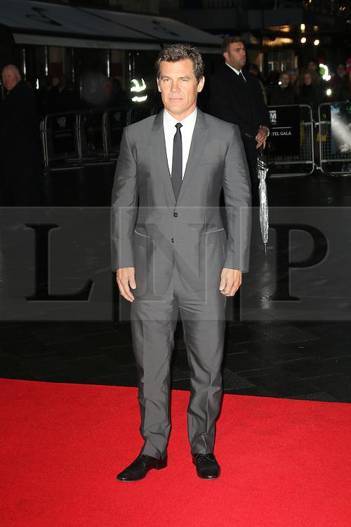 Josh Brolin, The BFI London Film Festival: Labor Day, Odeon Leicester Square, London UK, 14 October 2013, Photo by Richard Goldschmidt