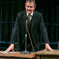 An Enemy of the People by Henrik Ibsen;<br /> Directed by Howard Davies;<br /> Hugh Bonneville as Dr Tomas Stockmann;<br /> Chichester Festival Theatre, Chichester, UK ;<br /> 29 April 2016