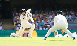 England's James Vince in action during day one of the Ashes Test match at The Gabba, Brisbane.