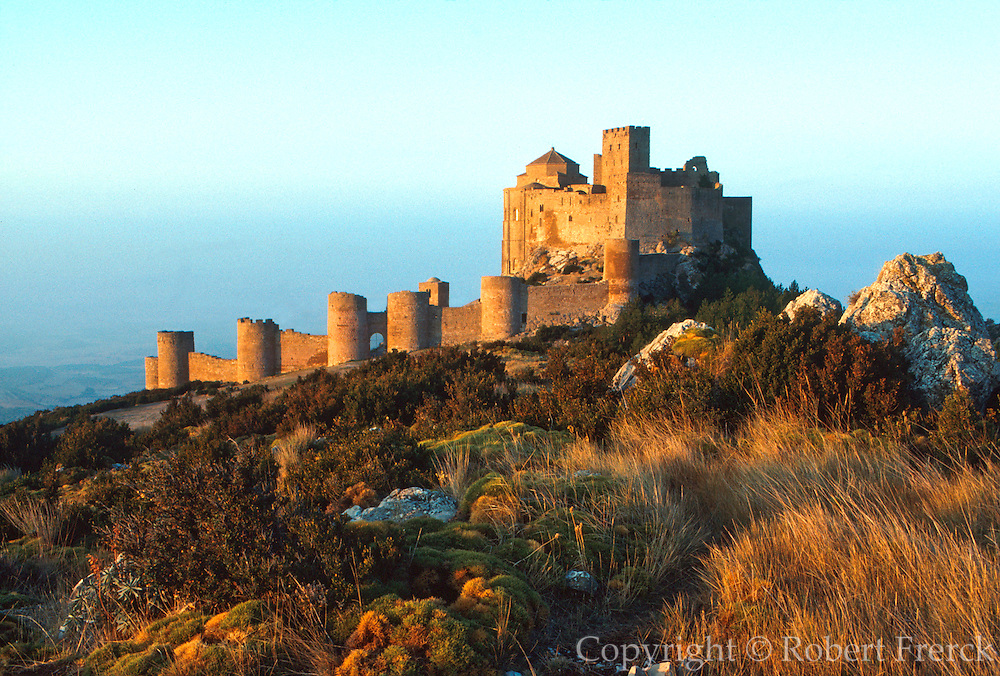 SPAIN, NORTH, ARAGON Castillo de Loarre, north of Huesca