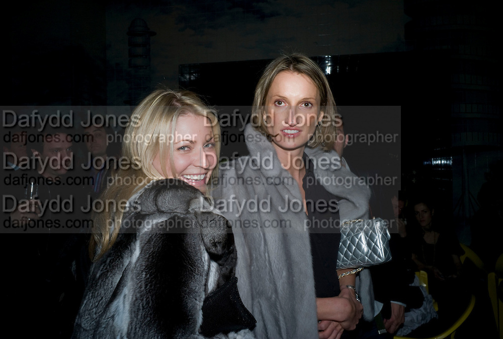 STEPHANIE DORRANCE,  Prada Congo Art Party hosted by Miuccia Pada and Larry Gagosian. The Double Club,  Torrens St. London EC1. The Double Club is A Carsten Holler project by Fondazione Prada. 10 February 2009. *** Local Caption *** -DO NOT ARCHIVE-© Copyright Photograph by Dafydd Jones. 248 Clapham Rd. London SW9 0PZ. Tel 0207 820 0771. www.dafjones.com.<br /> STEPHANIE DORRANCE,  Prada Congo Art Party hosted by Miuccia Pada and Larry Gagosian. The Double Club,  Torrens St. London EC1. The Double Club is A Carsten Holler project by Fondazione Prada. 10 February 2009.