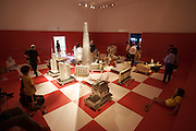 "Giardini. Russian Pavillion. ""Chess?Play for Russia""."