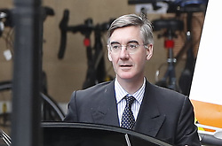 © Licensed to London News Pictures. 03/09/2019. London, UK. Leader of The House of Commons Jacob Rees-Mogg arrives at Parliament. Parliament is returning from the summer recess today with MPs expected to try to stop a no-deal Brexit. Prime Minister Boris Johnson has threatened to hold a snap election if the legislation is passed. Photo credit: Peter Macdiarmid/LNP