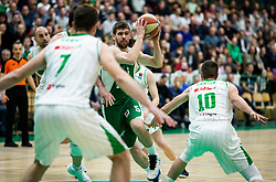 Paolo Marinelli of Krka during basketball match between KK Krka and KK Petrol Olimpija in 22nd Round of ABA League 2018/19, on March 17, 2019, in Arena Leon Stukelj, Novo mesto, Slovenia. Photo by Vid Ponikvar / Sportida