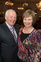 Repro free: At the Gorta Self Help Africa annual Ball at hotel Meyrick, Galway were Frank and Mary Downes Moycullen. Photo:Andrew Downes