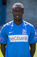 Genk's Kim Ojo pictured during the 2015-2016 season photo shoot of Belgian first league soccer team KRC Genk, Friday 10 July 2015 in Genk