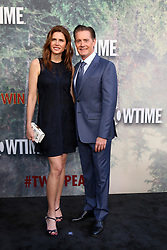 May 19, 2017 - Los Angeles, CA, USA - LOS ANGELES - MAY 19:  Desiree Gruber, Kyle MacLachlan at the ''Twin Peaks'' Premiere Screening at The Theater at Ace Hotel on May 19, 2017 in Los Angeles, CA (Credit Image: © Kay Blake via ZUMA Wire)