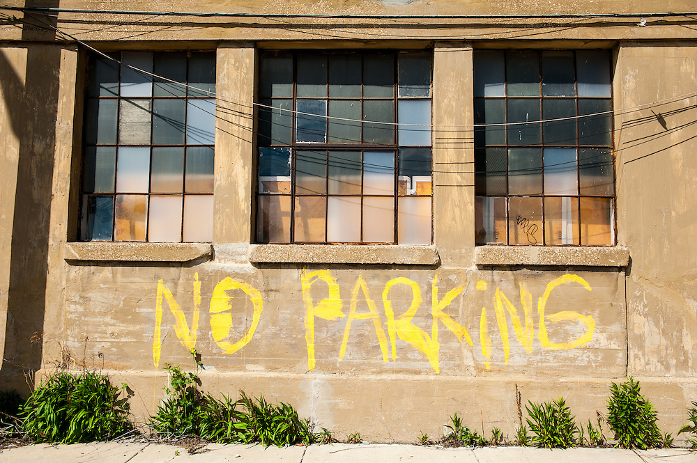 No Parking on Goose Island