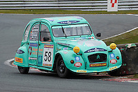 #58 Simon CROOK Citroen 2CV 60 during 2CVParts.com Classic Championship as part of the BARC NW - Championship Raceday  at Oulton Park, Little Budworth, Cheshire, United Kingdom. March 19 2016. World Copyright Peter Taylor/PSP. Copy of publication required for printed pictures.  Every used picture is fee-liable.