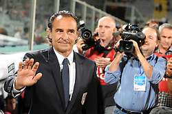 07.09.2010, Stadio Artemio Franchi, Florenz, ITA, UEFA 2012 Qualifier, Italia v Faer Oer, im Bild Cesare PRANDELLI.EXPA Pictures © 2010, PhotoCredit: EXPA/ InsideFoto/ Andrea Staccioli *** ATTENTION *** FOR AUSTRIA AND SLOVENIA USE ONLY! / SPORTIDA PHOTO AGENCY