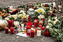 20.12.2016, Berlin, GER, Anschlag auf Berliner Weihnachtsmarkt, im Bild Kannstrasse, Gedaechtniskirche, Weihnachtsmarkt, Absperrung Kurfuerstendamm // after a Truck sped into a Christmas market, killing at least twelve people and injuring dozens more Ambulances and heavily armed officers rushed to the area after the driver drove up the pavement of the market in a square popular with tourists. Berlin, Germany on 2016/12/20. EXPA Pictures © 2016, PhotoCredit: EXPA/ Eibner-Pressefoto/ Koch<br /> <br /> *****ATTENTION - OUT of GER*****