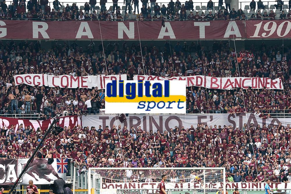 coreografia tifosi Torino<br /> Torino 26-04-2015 Stadio Olimpico, Football Calcio Serie A Torino - Juventus Foto Image Sport / Insidefoto