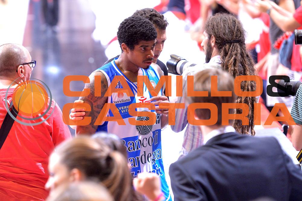 DESCRIZIONE : Milano Lega A 2014-15 EA7 Emporio Armani Milano vs Banco di Sardegna Sassari playoff Semifinale gara 5 <br /> GIOCATORE : Sosa Edgar<br /> CATEGORIA : Delusione<br /> SQUADRA : Banco di Sardegna Sassari<br /> EVENTO : PlayOff Semifinale gara 5<br /> GARA : EA7 Emporio Armani Milano vs Banco di Sardegna SassariPlayOff Semifinale Gara 5<br /> DATA : 06/06/2015 <br /> SPORT : Pallacanestro <br /> AUTORE : Agenzia Ciamillo-Castoria/Mancini Ivan<br /> Galleria : Lega Basket A 2014-2015 Fotonotizia : Milano Lega A 2014-15 EA7 Emporio Armani Milano vs Banco di Sardegna Sassari playoff Semifinale  gara 5 Predefinita :