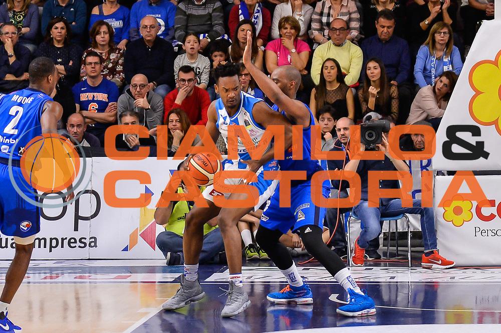 Dyshawn Pierre<br /> Banco di Sardegna Dinamo Sassari - Germani Basket Leonessa Brescia<br /> Legabasket Serie A LBA PosteMobile 2017/2018<br /> Sassari, 08/04/2018<br /> Foto L.Canu / Ciamillo-Castoria