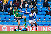 Chesterfield's Ricky German (35) during the EFL Sky Bet League 1 match between Chesterfield and Scunthorpe United at the b2net stadium, Chesterfield, England on 22 October 2016. Photo by Richard Holmes.