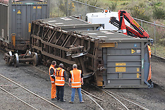 Dunedin-Rail wagon derailment in freight yards