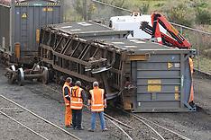 Dunedin-Rail wagon derailment in freight yards