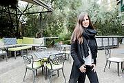 Atene, Dec. 2014 - <br /> Danai Dasopoulou, giornalista di 34 anni<br /> Grecia: Reaction Era
