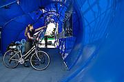 24.09.2006 Warszawa tymczasowa ekspozycja w miejscu budowy Muzeum Zydow Polskich.Fot Piotr Gesicki Temporary exhibition in Jewish Museum Warsaw Poland photo Piotr Gesicki