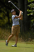 Kimberly Kim during the quarterfinals of the U.S. Women's Amateur at Crooked Stick Golf Club on Aug. 10, 2007 in Carmel, Ind.    ...©2007 Scott A. Miller