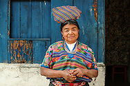 Woman with Bundle, Guatemala