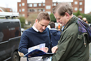 AFC Wimbledon manager Neal Ardley arriving during the EFL Sky Bet League 1 match between AFC Wimbledon and Southend United at the Cherry Red Records Stadium, Kingston, England on 1 January 2018. Photo by Matthew Redman.
