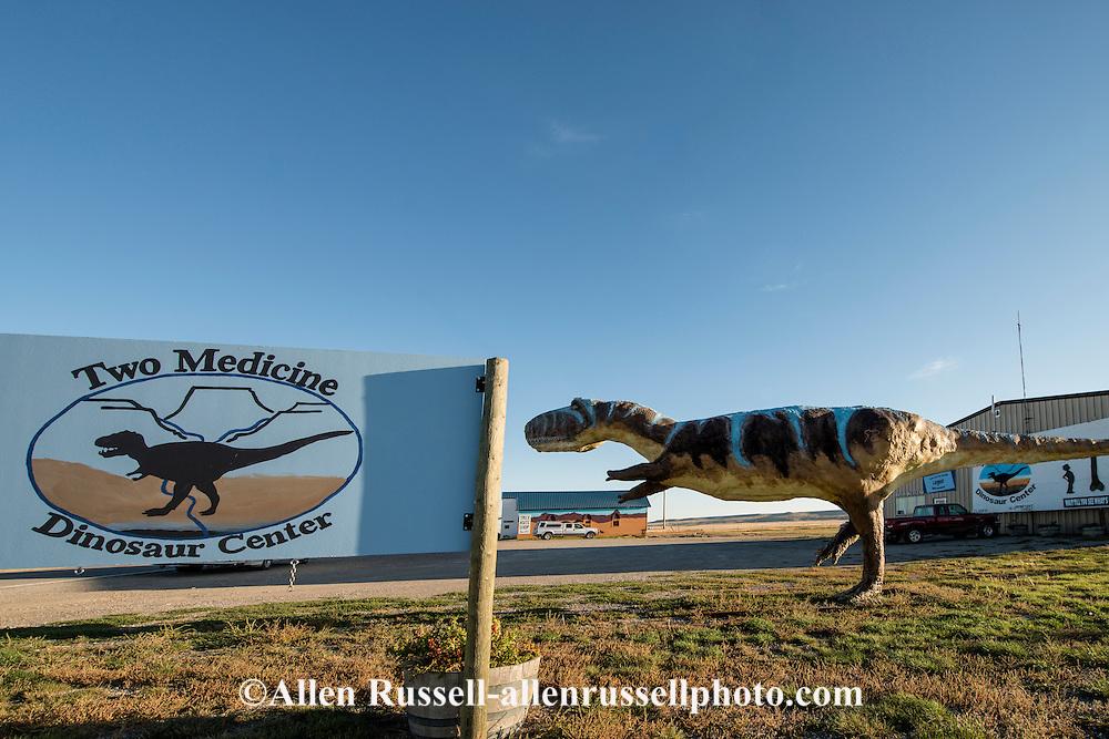 Two Medicine Dinosaur Center, Trex Agate Shop, Bynum, Montana