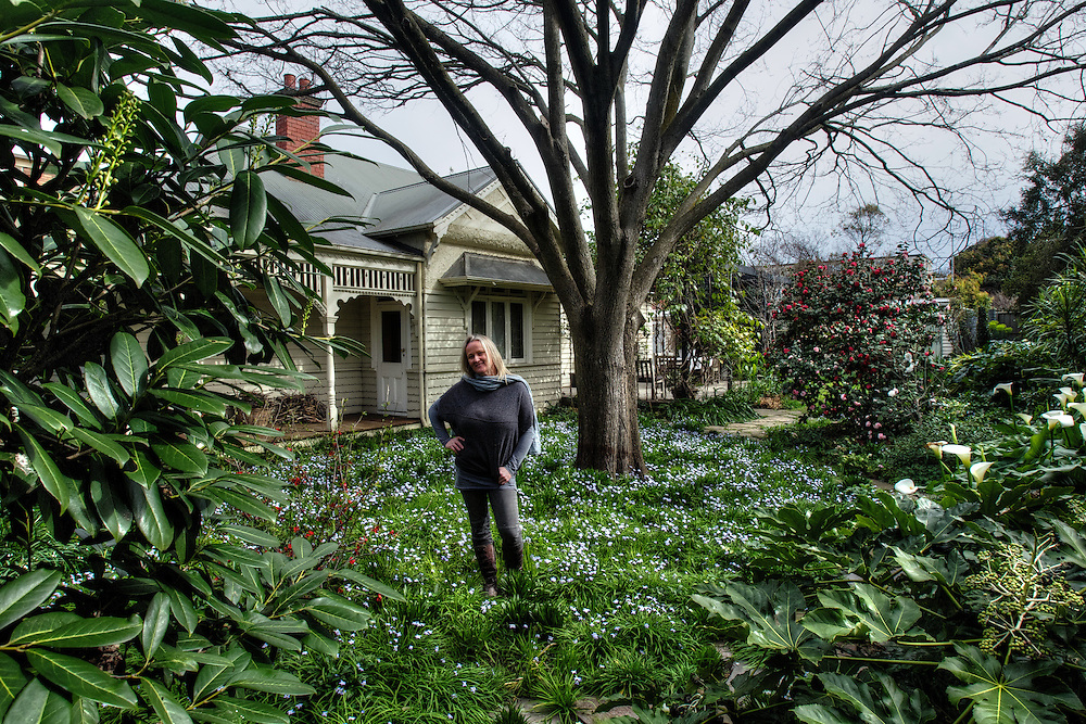 Libby Kerr's garden is an English woodland style small garden. For Domain. Pic By Craig Sillitoe CSZ / The Sunday Age.21/08/2012 melbourne photographers, commercial photographers, industrial photographers, corporate photographer, architectural photographers, This photograph can be used for non commercial uses with attribution. Credit: Craig Sillitoe Photography / http://www.csillitoe.com<br /> <br /> It is protected under the Creative Commons Attribution-NonCommercial-ShareAlike 4.0 International License. To view a copy of this license, visit http://creativecommons.org/licenses/by-nc-sa/4.0/.