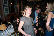 RACHEL JOHNSON, Graydon Carter hosts a diner for Tom Ford to celebrate the London premiere of ' A Single Man' Harry's Bar. South Audley St. London. 1 February 2010