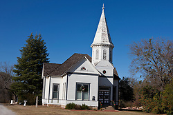 Exterior of the Stephenville Church of 1900, Stephenville, Texas, United States of America