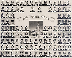 1960 Yale Divinity School Senior Portrait Class Group Photograph