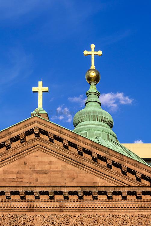 Cathedral Basilica of SS. Peter and Paul, Philadelphia, Pennsylvania, USA.