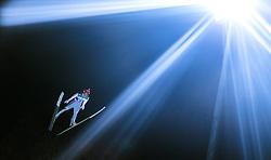 05.01.2015, Paul Ausserleitner Schanze, Bischofshofen, AUT, FIS Ski Sprung Weltcup, 63. Vierschanzentournee, Qualifikation, im Bild Markus Eisenbichler (GER) // during Qualification of 63rd Four Hills Tournament of FIS Ski Jumping World Cup at the Paul Ausserleitner Schanze, Bischofshofen, Austria on 2015/01/05. EXPA Pictures © 2015, PhotoCredit: EXPA/ JFK