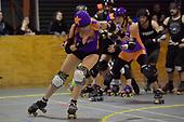 20170819 Roller Derby - Richter City All Stars v NZ Mens Roller Derby