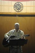 Keith McGregor of Oxford was among musicians playing at Blcackjack Connection at Blackjack Presbyterian Church near Sardis Lake on Monday, March 21, 2010.