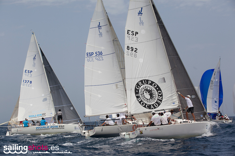1 de julio de 2016, Última Jornada del Campeonato del Mundo de J80 Marina de Sotogrande./ Final day at the J80 Worlds Marina de Sotogrande.