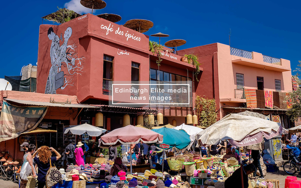 A general view of part of the market in Marrakech, Morocco, North Africa<br /> <br /> (c) Andrew Wilson | Edinburgh Elite media