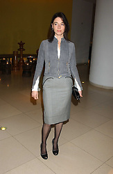 MARY McCARTNEY at a Burns Night supper in aid of Clic Sargent & Children's Hospital Association Scotland hosted by Ewan McGregor, Sharleen Spieri and Lady Helen Taylor at St.Martin's Lane Hotel, 45 St Martin's Lane, London on 25th January 2006.<br /><br />NON EXCLUSIVE - WORLD RIGHTS