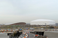 OLYMPIC GAMES - LONDON 2012 VENUES - LONDON (GBR) - 23/11/2011 - PHOTO : GREGORY LENORMAND / DPPI - VELODROME AND BASKETBALL ARENA