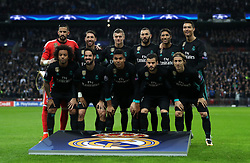 A Real Madrid team group photo