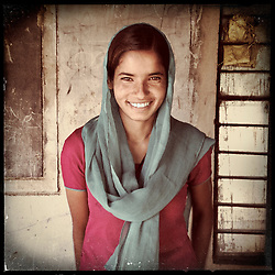 iPhone portrait of Keshanta Gujar, 16, in a village outside of Tonk, Rajasthan, India, April 3, 2013. &quot;To my colleagues and other girls I want to say that you too must study. I think that even kids can say no to their parents for marriage,&quot; said Gujar. <br />  <br /> Under Indian law, children younger than 18 cannot marry. Yet in a number of India&rsquo;s states, at least half of all girls are married before they turn 18, according to statistics gathered in 2012 by the United Nations Population Fund (UNFPA). However, young girls in the Indian state of Rajasthan&mdash;and even a few boys&mdash;are getting some help in combatting child marriage. In villages throughout Tonk, Jaipur and Banswara districts, the Center for Unfolding Learning Potential, or CULP, uses its Pehchan Project to reach out to girls, generally between the ages of 9 and 14, who either left school early or never went at all. The education and confidence-building CULP offers have empowered youngsters to refuse forced marriages in favor of continuing their studies, and the nongovernmental organization has provided them with resources and advocates in their fight.