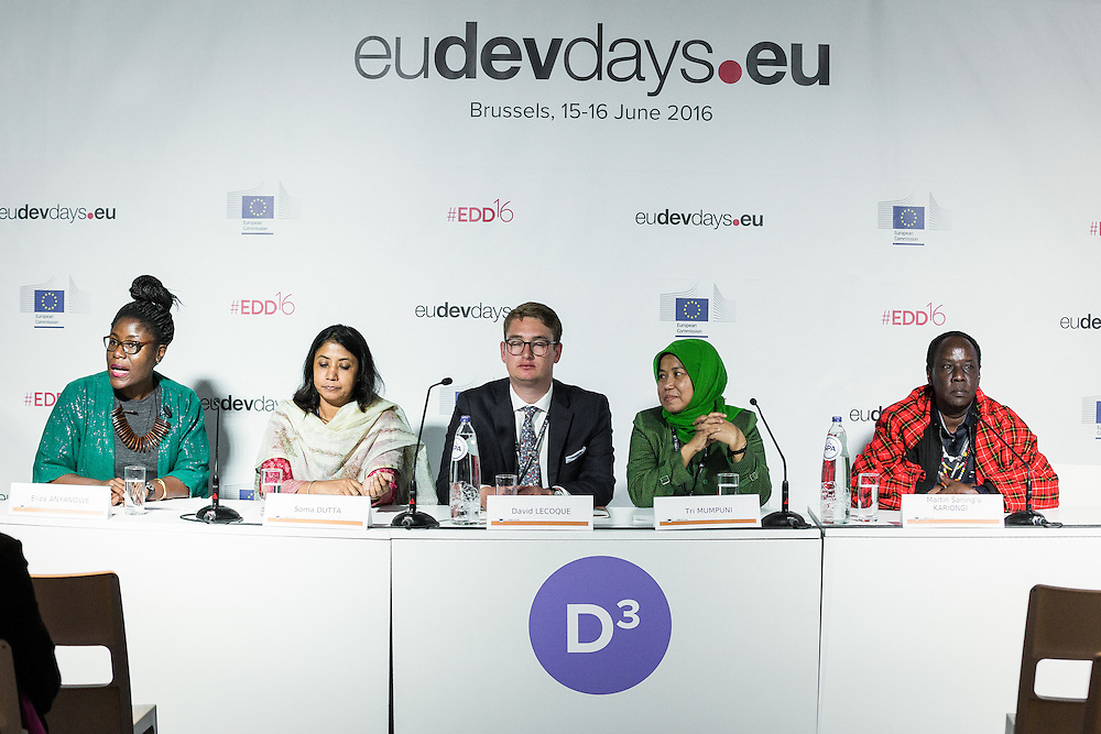 20160615 - Brussels , Belgium - 2016 June 15th - European Development Days - Will energy access alone end poverty ? © European Union