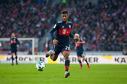 December 16, 2017 - Stuttgart, Germany - Bayerns Kingsley Coman initiates a counter during the German first division Bundesliga football match between VfB Stuttgart and Bayern Munich on December 16, 2017 in Stuttgart, Germany. (Credit Image: © Bartek Langer/NurPhoto via ZUMA Press)
